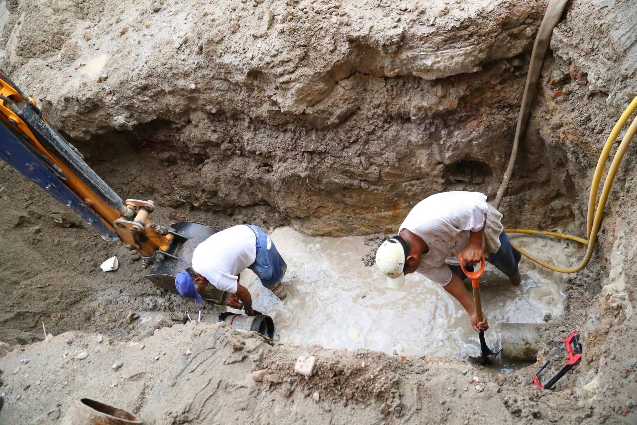 Atendi seapal oportunamente 4 247 fugas de agua potable - Detectores de tuberias de agua ...