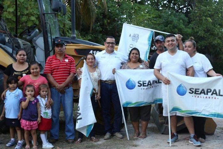 Da Seapal banderazo a obra de agua potable en Jardines II