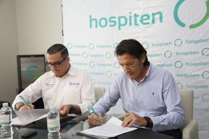 Firma Seapal convenio de colaboración con Hospiten
