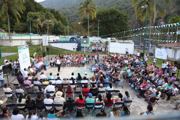 Abarca lleva beneficio a 500 familias con el Aguamático Buenos Aires