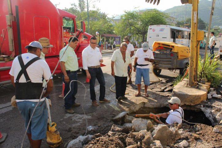 Redujo Seapal incidencia de tuberías rotas en 30%