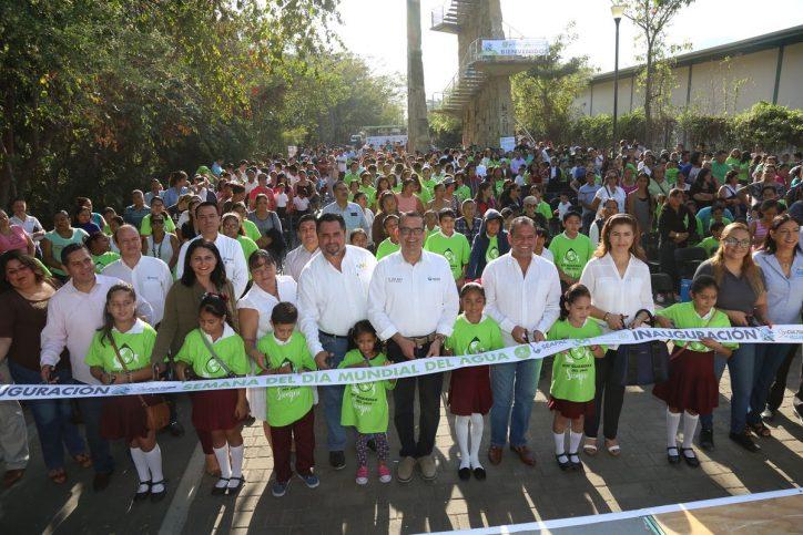 Inaugura Abarca festejos por el Día Mundial del Agua