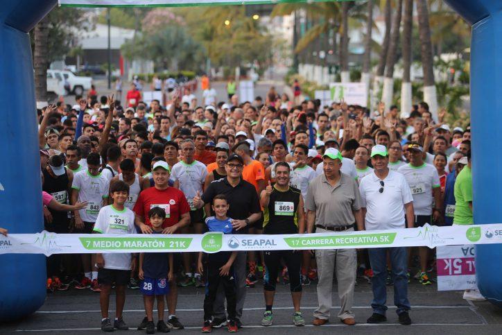 Supera expectativas el séptimo Medio Maratón de Seapal Vallarta