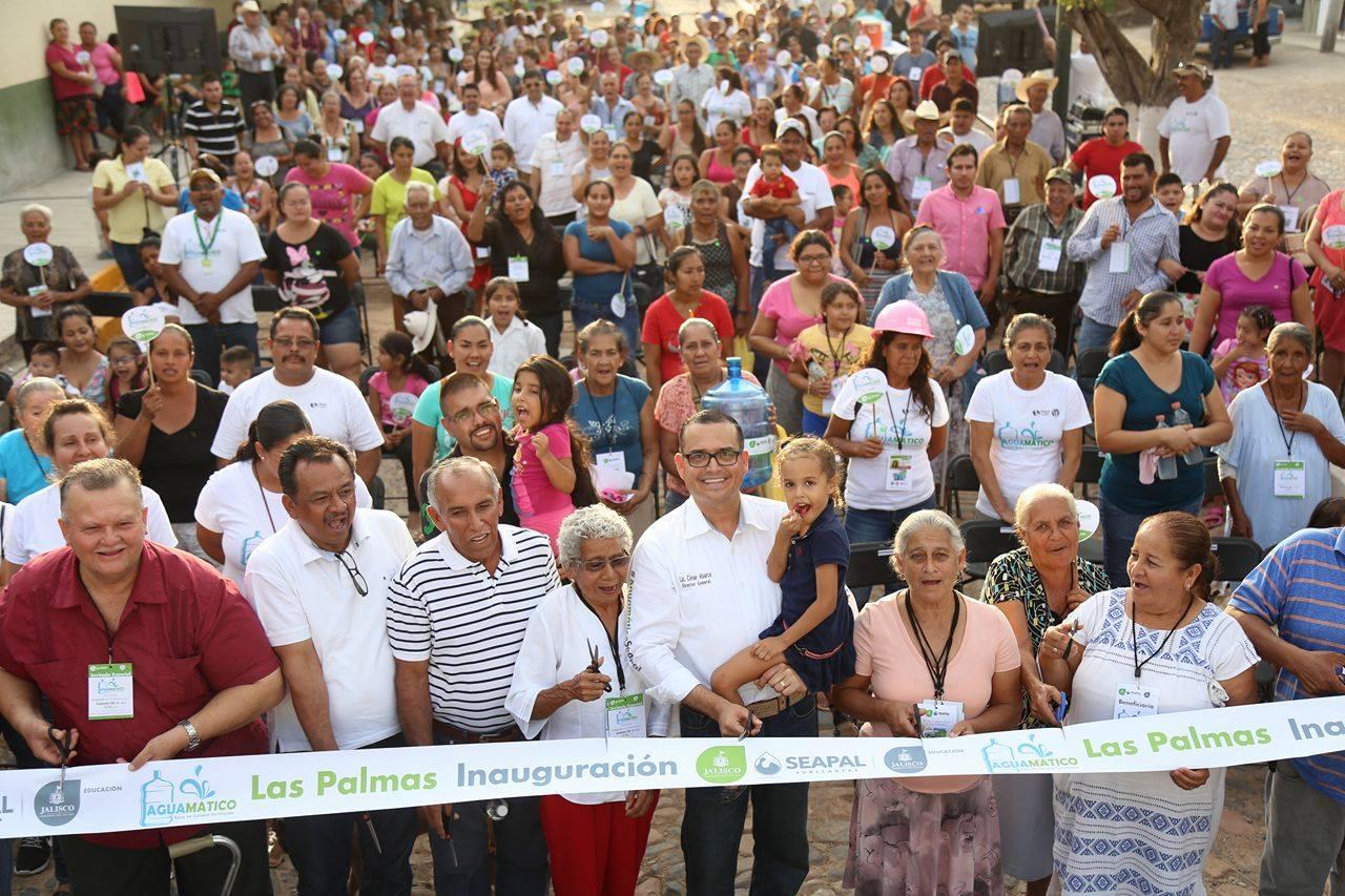 Destacan habitantes de Las Palmas apoyo de Abarca