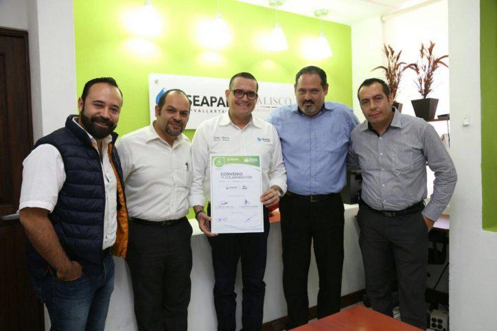 Suscriben Seapal y UNE convenio de colaboración