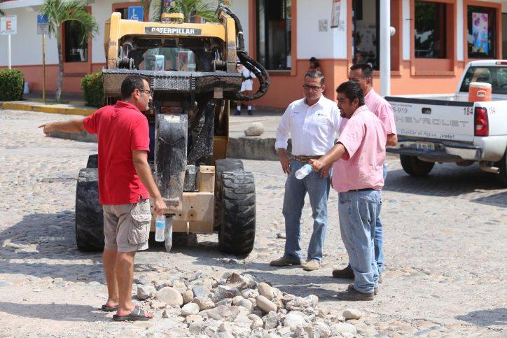 Rehabilita Seapal línea de drenaje en el centro de la ciudad