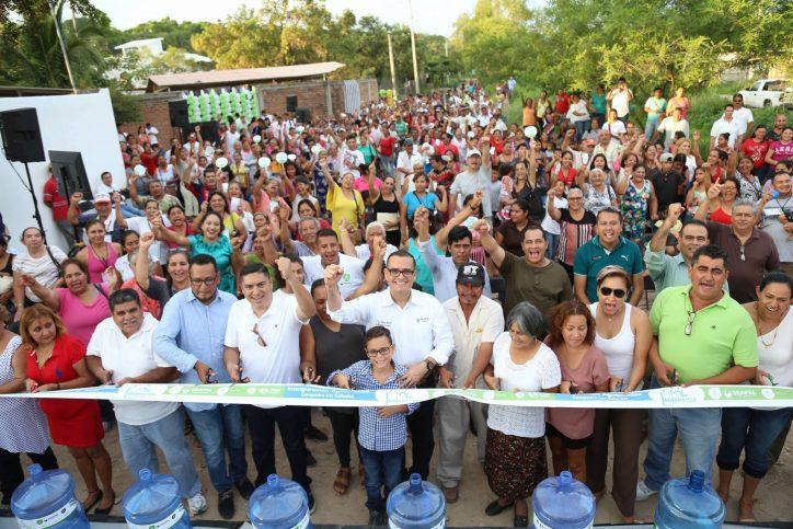 """""""Aguamático y drenaje para todos en Cañadas"""": Abarca"""