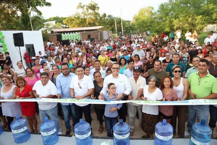 500 familias beneficiadas con el Aguamático de Cañadas