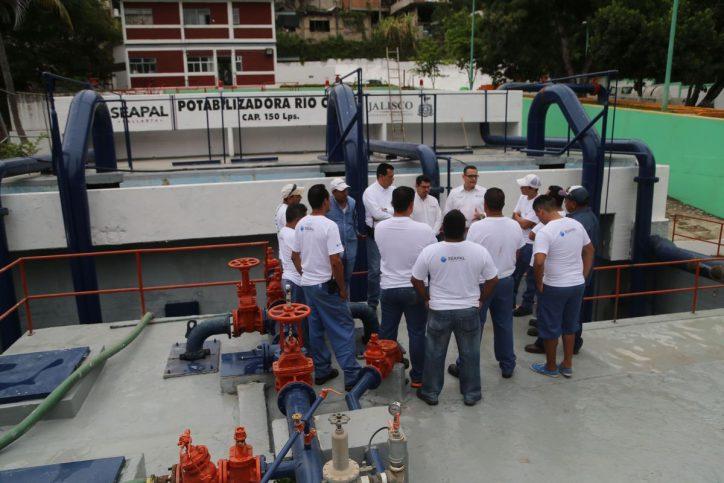 """""""En mejora continua, plantas potabilizadoras de Seapal"""": Abarca"""