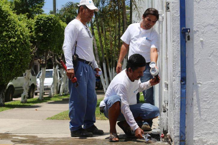 Exhorta Seapal a reportar robo de medidores de agua