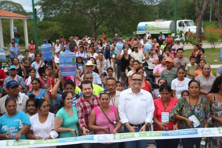 Reconocen habitantes de la zona rural apoyo de Abarca