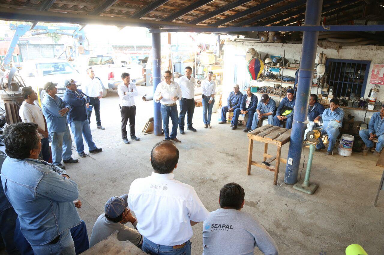Realiza Seapal acciones para mejorar infraestructura