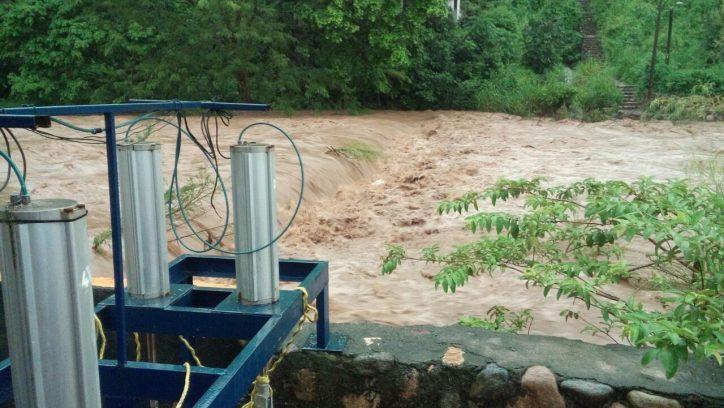 Reporte de incidencias por la lluvia de este domingo 27 de agosto