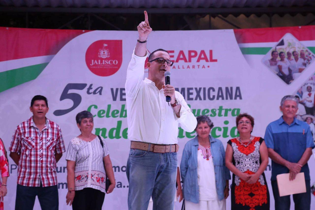 Encabeza Abarca tradicional verbena mexicana