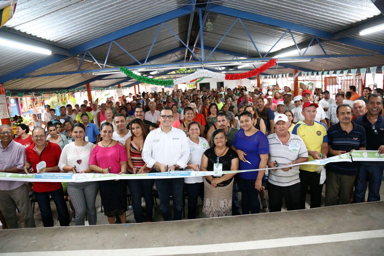 Con Abarca, 3 mil 500 familias beneficiadas en El Pitillal