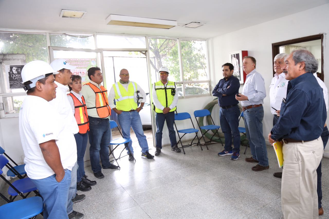 Inicia apoyo de Seapal en la Ciudad de México