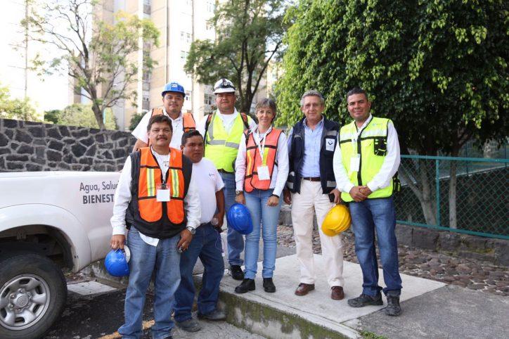 De corazón, apoyo de Seapal a víctimas del sismo