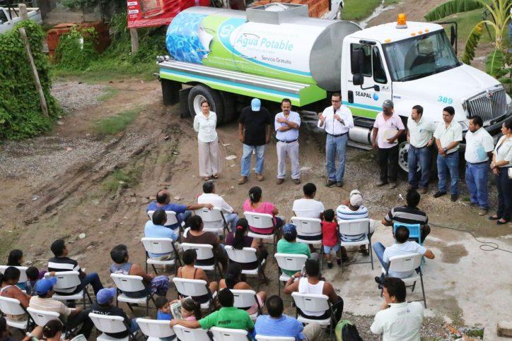 Lleva Seapal agua certificada en Pipas a 3,500 habitantes