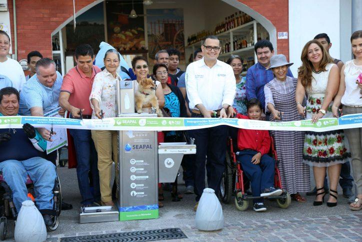 Inaugura Abarca Bebedero incluyente y Pet Friendly en el Malecón