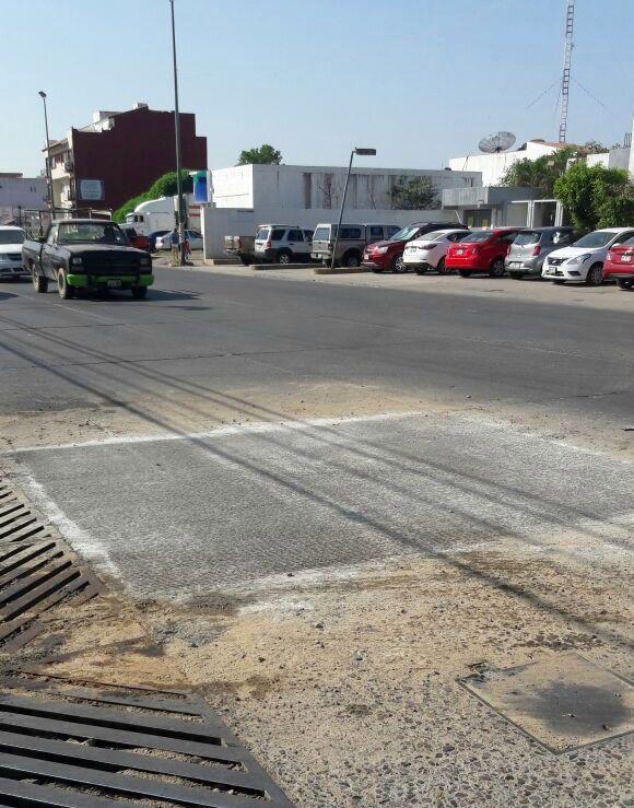 Repara Seapal oportunamente tubería en Avenida Francisco Villa