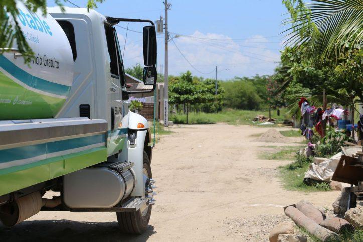 Suministró Seapal 243 millones de litros de agua con Pipas