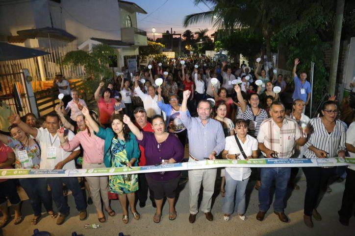 Inaugura Andrés el Aguamático La Floresta
