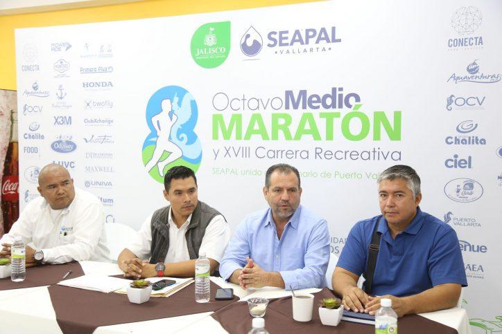 Cuenta regresiva para el Octavo Medio Maratón de Seapal Vallarta